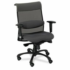 Eon Series Mid-Back Swivel and Tilt Conference Chair with T-Arms