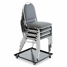 """3.5"""" x 23.5"""" x 23.5"""" Stacking Chair Dolly"""