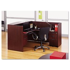 Valencia Series Reception Desk with Return