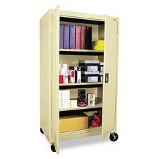 Mobile 2 Door Storage Cabinet