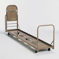 Vertical Folding Storage Caddy Chair Dolly