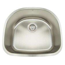 "Manhattan 23.5"" x 21"" Single Bowl Undermount Bar Sink"