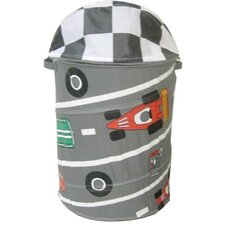 Round Race Car Hamper