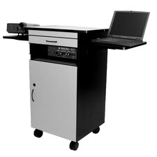 Multimedia Work Laptop Cart