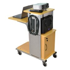 Mobile Presentation Laptop Cart