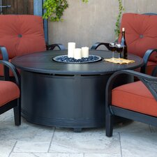 Indies Aluminum Gas Fire Pit Table