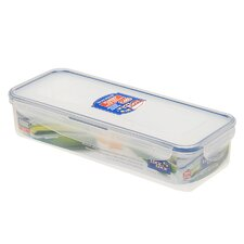 4.2-Cup Rectangle Nestable Storage Container with Bracket