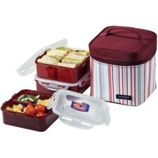 8 Piece Lunch Box Set with Cool Pack