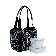2 Piece Food Container Set Bag Cooler (Set of 3)