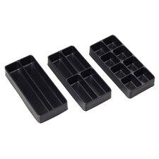 3-Piece Drawer Organization Trays