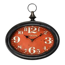 Vintage-Inspired Retro Pocket Large Numbers Face Wall Hanging Clock