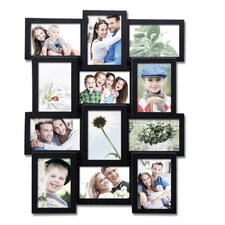 12 Opening Plastic Wall Hanging Photo Collage Picture Frame