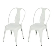 Vintage Stacking Dining Chair (Set of 2)