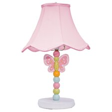 """Wings Nursery 16"""" H Table Lamp with Bell Shade"""