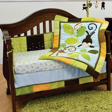 Swing 3 Piece Crib Bedding Set