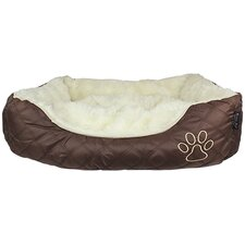 Oxford Quilted Dog Bed
