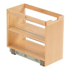 FindIT Kitchen Storage Organization Base Pullout Cabinet