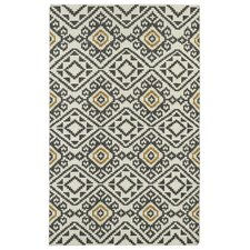 Nomad Charcoal Geometric Area Rug