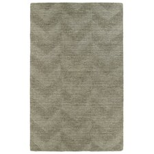 Imprints Modern Light Brown Geometric Area Rug