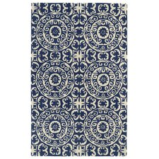 Evolution Navy Area Rug