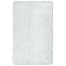 Posh White Area Rug