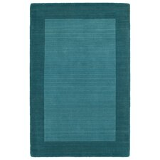 Regency Solid Turquoise Area Rug