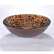 "16.5"" Round Vessel Bathroom Sink"