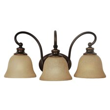 Heritage 3 Light Wall Sconce