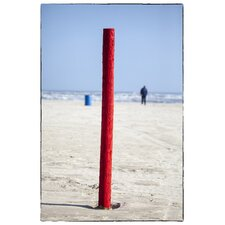 Limited Edition 'The Red Post' by Fikry Botros Photographic Print