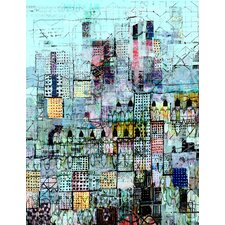 Limited Edition 'Blue Metropolis' by Andy Mercer Painting Print
