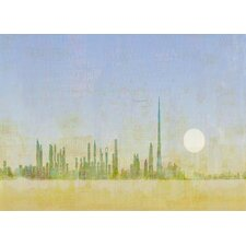 Limited Edition 'Dubai Sunrise' by Andy Mercer Painting Print