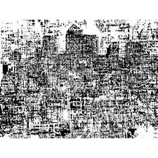 Limited Edition 'Canary Wharf (White Noise)' by Andy Mercer Graphic Art