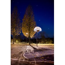 Limited Edition 'Basketball Hoop at Night' by Liz Wade Photographic Print