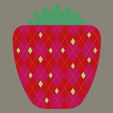 Limited Edition 'Strawberry' by Bee Things Graphic Art