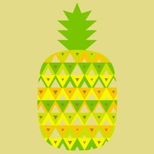 Limited Edition 'Pineapple' by Bee Things Graphic Art