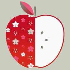 Limited Edition 'Apple' by Bee Things Graphic Art