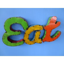 Small Eat Sign Wall Décor
