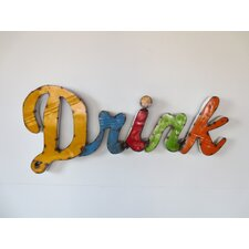 Drink Sign Wall Décor