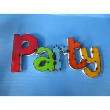 Party Sign Wall Décor