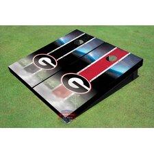 "NCAA University Of Georgia ""G"" Field Long Strip Themed Cornhole Boards (Set of 2)"