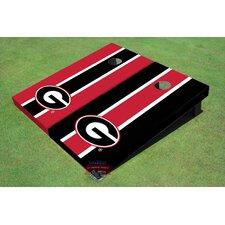 "NCAA University Of Georgia ""G"" Long Stripe Cornhole Board (Set of 2)"