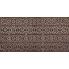 """Glue-Up Traditional 6"""" x 6"""" Tin Ceiling Tile in Bronze"""