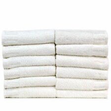Luxury Hotel and Spa Turkish Cotton Piano Wash Cloth (Set of 12)