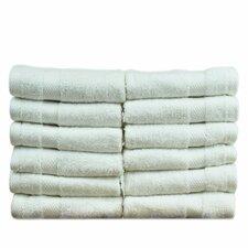 Luxury Hotel and Spa Turkish Cotton Honeycomb Wash Cloth (Set of 12)