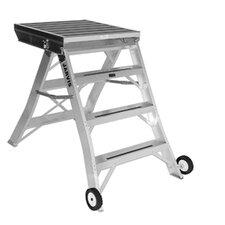 4 ft Aluminum Model 7 Podium Rolling Ladder