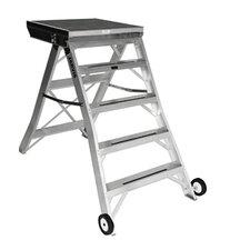 4 ft Aluminum Model 8 Podium Rolling Ladder