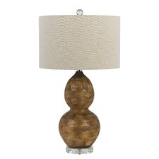 """Bergamo 3 Way 28.5"""" H Table Lamp with Drum Shade"""