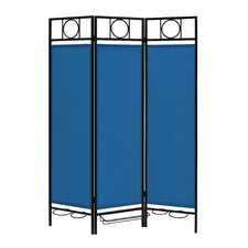 "66.63"" x 54"" Privacy Screen in a Box™ 3 Panel Room Divider"