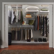 ShelfTrack Adjustable Closet Organizer Kit