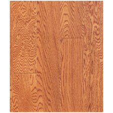 "5"" Engineered Oak Hardwood Flooring in Cinnamon (Set of 10)"